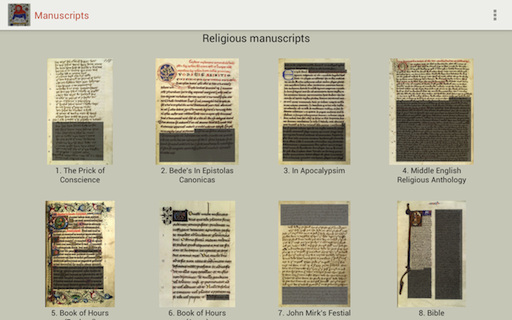 Medieval Handwriting